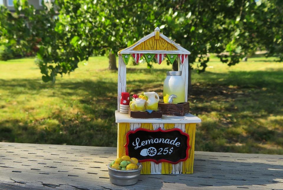 Venta de limonada