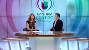 William Wolf en el programa de TV Contigo