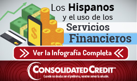 Infografía: Los Hispanos y el Uso de los Servicios Financieros