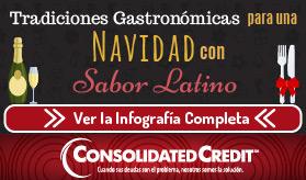 Infografía: Tradiciones Gastronómicas para una Navidad con Sabor Latino